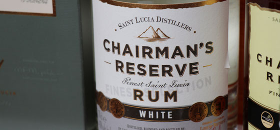 Chairman`s Reserve White Rum aus St. Lucia - Ralf Zindel