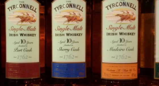 Tyrconnell Finish Single Malt Whiskey - Foto Ralf Zindel