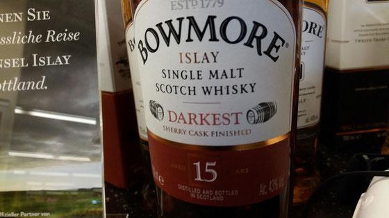 Bowmore Darkest 15 Jahre - Foto Ralf Zindel