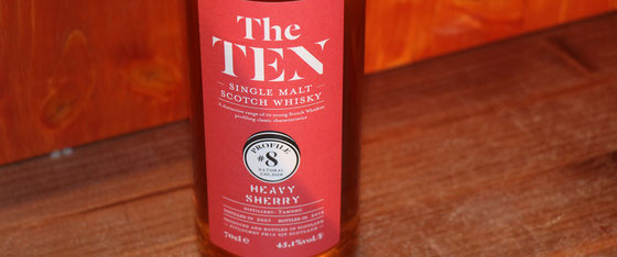 Tamdhu Single Malt Whiskys aus der Serie The TEN - Foto Ralf Zindel