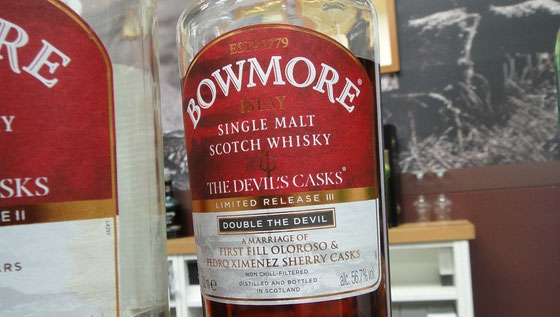 Bowmore The Devil`s Casks - Foto Ralf Zindel