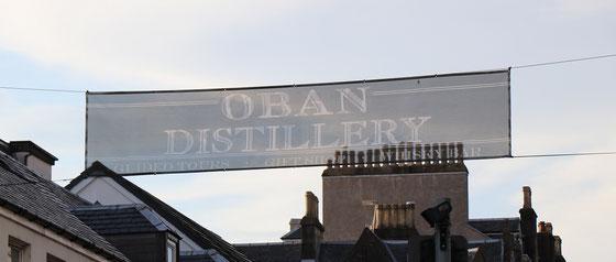 Oban Distillery - Foto Ralf Zindel