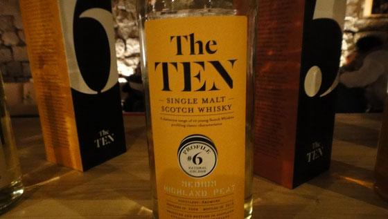 The Ten No. 6 Ardmore Single Malt