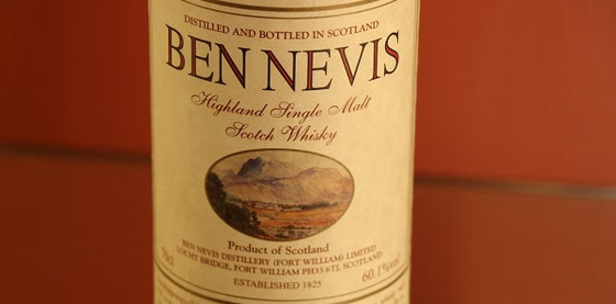 Ben Nevis heavently Peated Single Malt Whisky Single Cask -Foto Ralf Zindel