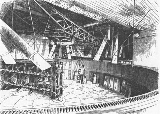 Mash tun der Marrowbone Lane Distillery von A. Barnard