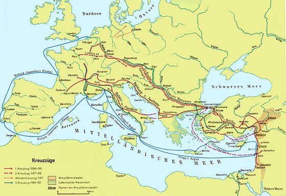 Kreuzzüge des Mittelalters