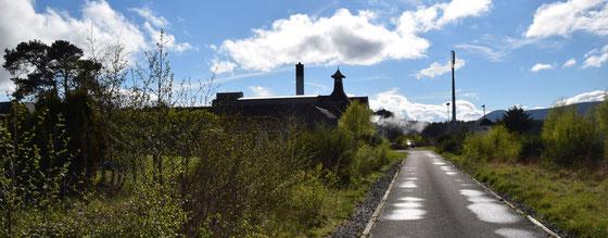 Ardmore Distillery in Kennethmont