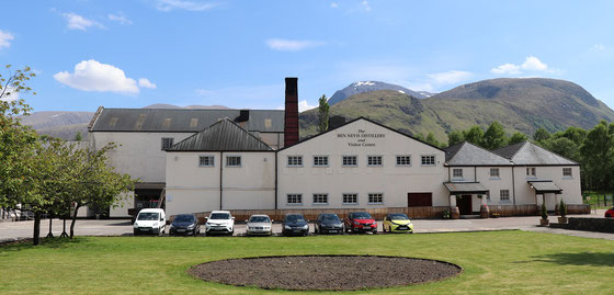 Ben Nevis Distillery - Foto Ralf Zindel