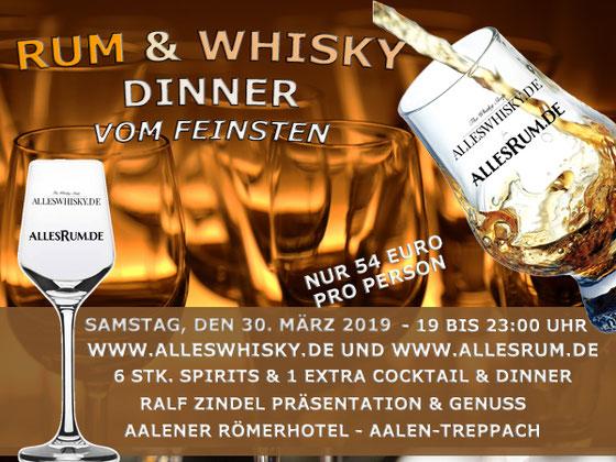 Whisky Tasting mit Ralf Zindel in Wadern