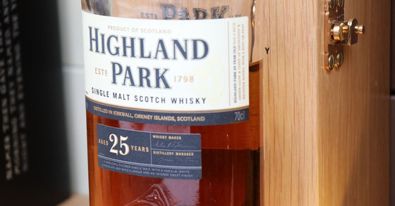 Highland Park Single Malt 25 Jahre - Foto Ralf Zindel