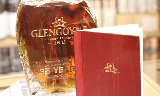 Glengoyne Single Malt 35 Jahre - Foto Ralf Zindel