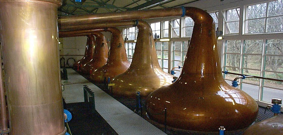 Pot Stills von Glen Ord