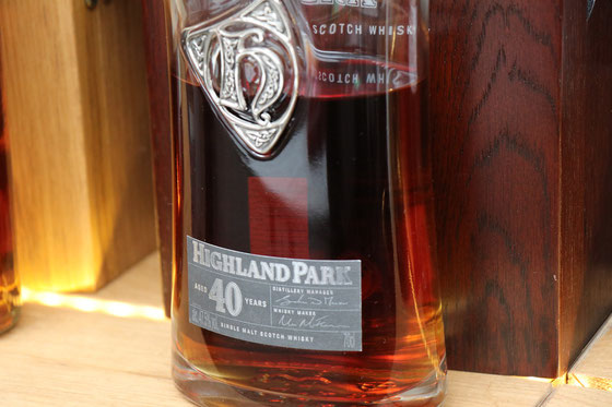 Highland Park Single Malt 40 Jahre - Foto Ralf Zindel