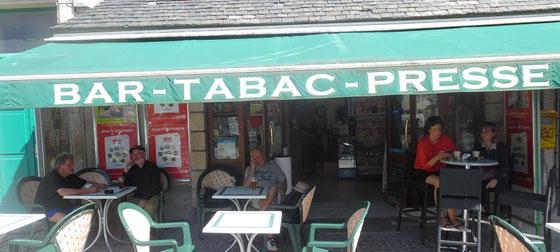 Pause in der Bretagne