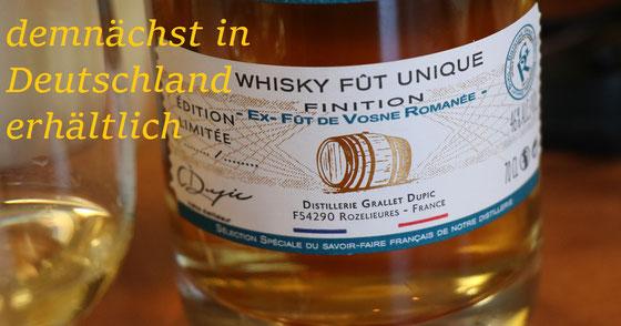 Rozelieures Single Cask Whisky Vosne Romanèe Finish - Foto Tasting Room Mannheim