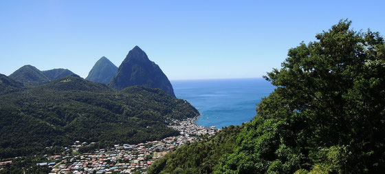 St. Lucia - Twin Pitons