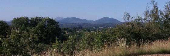 Die Vulkane der Auvergne