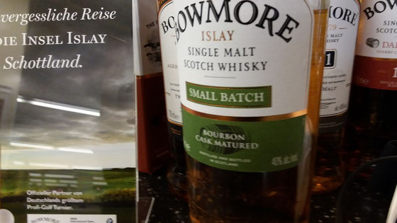 Bowmore Small Batch - Foto Ralf Zindel