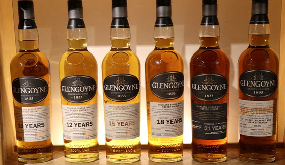 Glengoyne Single Malts - Foto Ralf Zindel