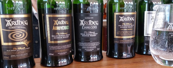 Ardbeg Single Malt Whiskys