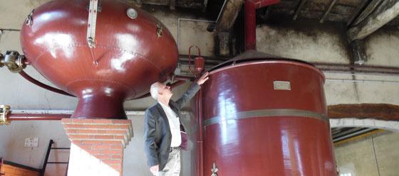 Ferrand Cognac Destillation