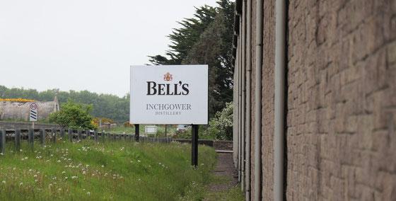 Inchgower Distillery - Geschichte Bell`s Whisky - Foto Ralf Zindel
