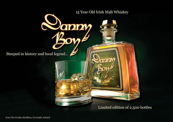 Danny Boy 15 Year Old Irish Single Malt Whiskey