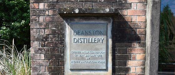 Deanston Distillery wurde 1965 gegründet - Foto Ralf Zindel