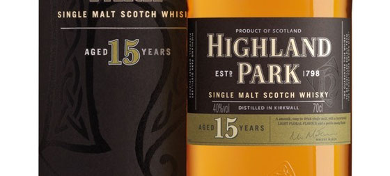 Highland Park Single Malt 15 Jahre