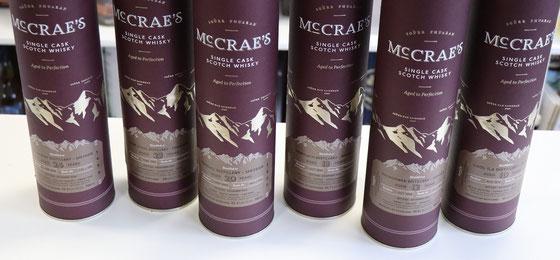 McCrae`s Single Cask Malt Whiskys - abgefüllt  Dezember 2020
