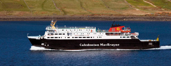 Caledonian MacBrayne Fähren, meist als Cal-Mac abgekürzt