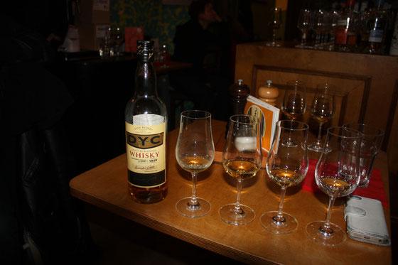 spanischer Whisky DYC
