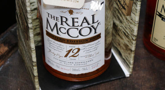 The Real McCoy Rum 12 Years Old Limited Madeira Edition aus Barbados - Ralf Zindel