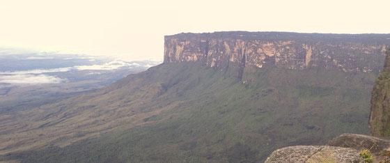 die Tepuis Tafelberge im der Hochebene von Venezuela