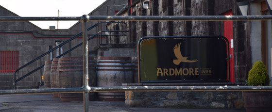 Ardmore Distillery in den Eastern Highlands