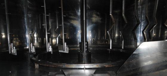 Distillerie Grallet-Dupic  mash tun