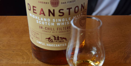 Deanston Single Malt - Foto Ralf Zindel