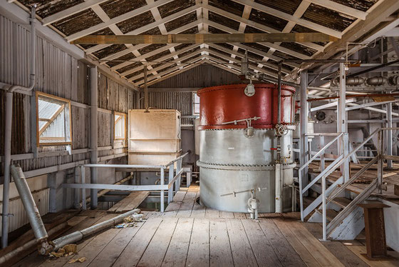 West Indies Distillery Barbados - Bild von Ferrand - Fotograf Jochen Hirschfeld