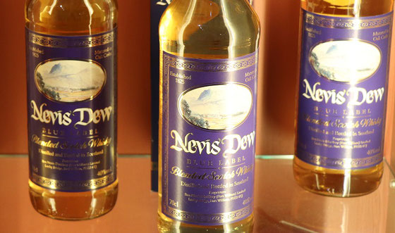 Dew of Ben Nevis Blue Label - Foto Ralf Zindel