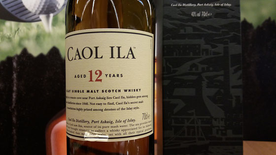 Caol Ila 12 Jahre Single Malt - Foto Ralf Zindel