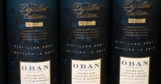 Oban Single Malt Distillers Edition - Foto Ralf Zindel