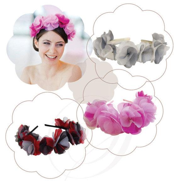 Haarkränze zur Hochzeit, zur Wiesen, zu Tracht, für Sommer Feste oder Alltag.