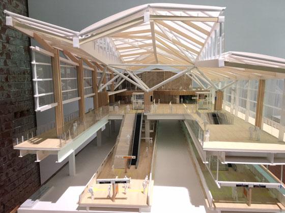 新品川駅(模型)