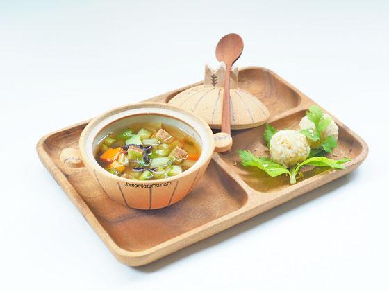 ルバーブのスープ/ミニミニ土鍋Cocciorino