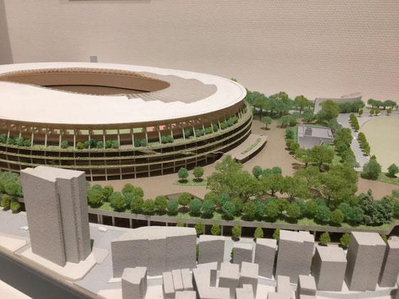 新国立競技場(模型)