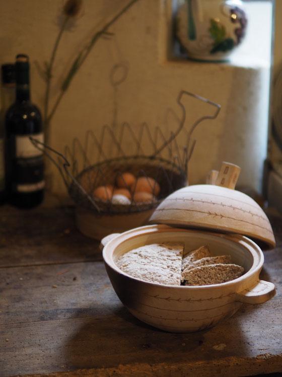 土鍋でパン ボローニャ2017