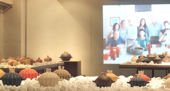 昨年の「旅する土鍋を報告する展覧会」2014.07 @CASA gallery