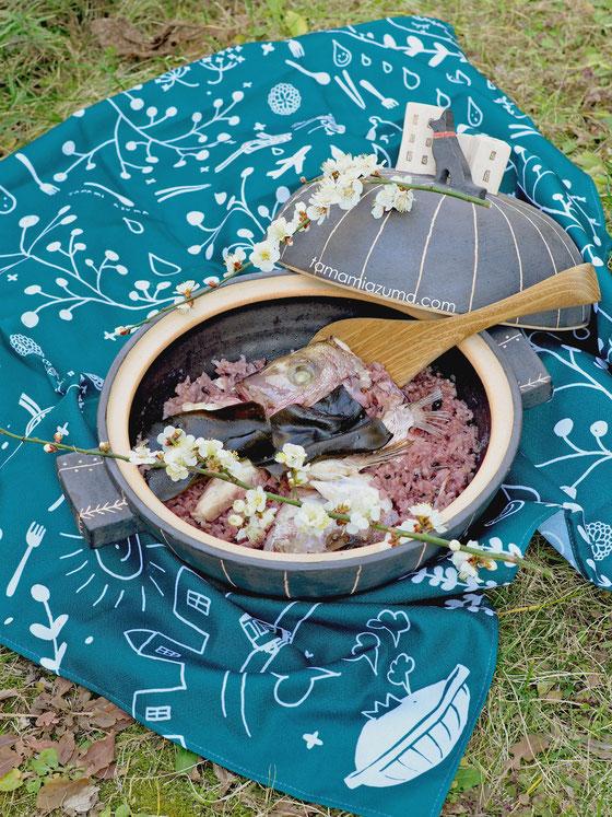 「鯛めし」Cocciorino旅する大土鍋