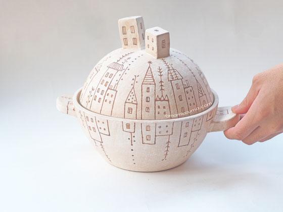 土鍋/水鏡