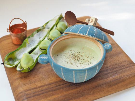 「そらまめスープ」ミニミニ土鍋Cocciorino